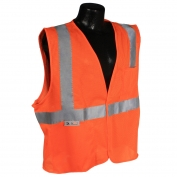 Radians SV2OM Economy Type R Class 2 Mesh Safety Vest - Orange