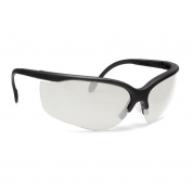 Remington T-40 Safety Glasses - Black Frame - Clear Lens