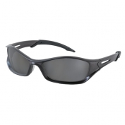 Crews Tribal Safety Glasses - Gray Frame - Gray Polarized Anti-Fog Lens