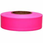 Presco TFPG Taffeta Roll Flagging Tape - Pink Glo