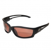 73b9cc6545 Edge TSK215 Kazbek Safety Glasses - Black Rubberized Frame - Copper Polarized  Lens