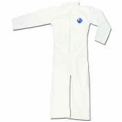 River CIty TY120S DuPont Tyvek Coverall with Collar - Zipper Front - Open Sleeves & Ankles