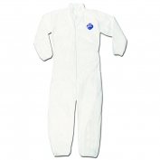 River City TY125S DuPont Tyvek Coverall with Collar - Zipper Front - Elastic Sleeves & Ankles