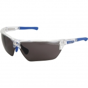 U.S. Safety DM1322PF Dominator DM3 Safety Glasses - Blue/Clear Frame - Gray MAX6 Anti-Fog Lens