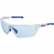 U.S. Safety DM1323PF Dominator DM3 Safety Glasses - Blue/Clear Frame - Light Blue MAX6 Anti-Fog Lens