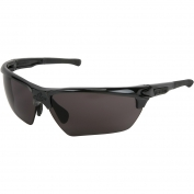 U.S. Safety DM1332PF Dominator DM3 Safety Glasses - Black Frame - Gray MAX6 Anti-Fog Lens
