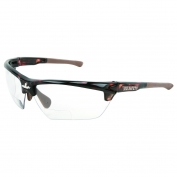 U.S. Safety DM13H10PF Dominator 3 Safety Glasses - Tortoise Shell Frame - Clear Bifocal MAX6 Anti-Fog Lens