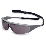 Uvex Millennia Safety Glasses - Silver Frame - Standard Gray Lens