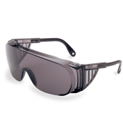 Uvex Ultra-Spec 2000 Safety Glasses - Gray Frame with Spatula Temples - Gray Anti-Fog Lens