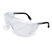 Uvex Ultra-Spec 2000 Safety Glasses - Clear Frame with Spatula Temples - Clear Lens