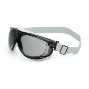 Uvex Carbonvision Safety Goggles - Neoprene Headband - Gray Dura-Streme Lens