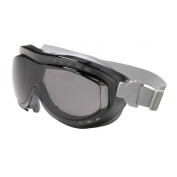 Uvex Flex Seal Goggles - Gray Frame - Gray Uvextreme Lens - Neoprene Band