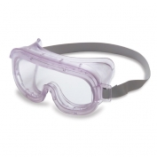 Uvex Classic Goggles - Clear with Hood Indirect Vent
