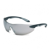Uvex Ignite Safety Glasses - Black Temples - Silver Mirror Lens