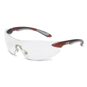 Uvex Ignite Safety Glasses - Red Temples - Clear Lens