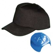 Vulcan V410 Baseball Bump Cap - Black
