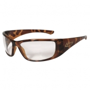 Radians Vengeance Safety Glasses - Tortoise Shell Frame - Clear Lens