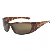 Radians Vengeance Safety Eyewear - Tortoise Shell Frame - Brown Polarized Lens