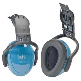 MSA left/Right 25dB Cap Mount Earmuffs - Blue