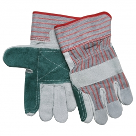 Memphis 1211 Split Shoulder Double Palm Leather Gloves - 2.5\