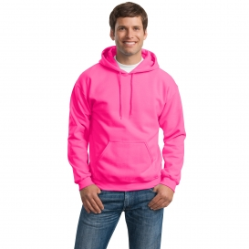 Gildan 18500 Heavy Blend Hooded Sweatshirt - Safety Pink