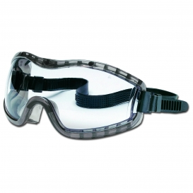 Crews Stryker Goggles - Rubber Strap - Clear Anti-Fog Lens
