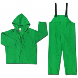 River City 3882S Dominator Limited Flammability Two Piece Rain Suit - Green