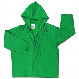 River City 388JH Dominator Limited Flammability Jacket - .42mm PVC/Polyester/PVC - Green