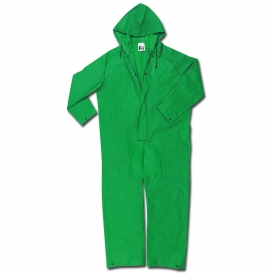 River City 3981 Dominator Limited Flammability Coveralls - .42mm PVC-Nylon-PVC - Green