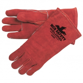 MCR Safety 4320 Premium Select Shoulder Leather Welder Gloves