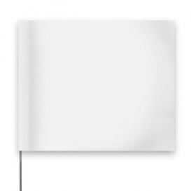 Presco Plain 4 inch x 5 inch with 30 inch Staff - White