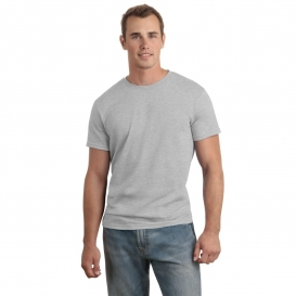 Hanes 4980 Nano-T Cotton T-Shirt - Light Steel