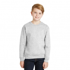 Jerzees 562B Youth NuBlend Crewneck Sweatshirt - Ash