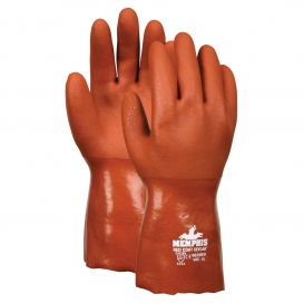 Memphis 6620KV Redcoat Kevlar Double Dipped PVC Gloves - Kevlar/Cotton Plaited Liner - Red