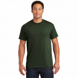 Gildan 8000 DryBlend T-Shirt - Forest Green