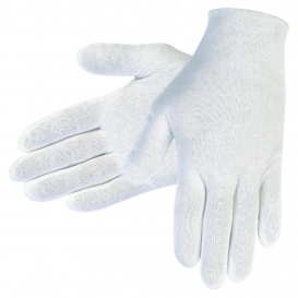 MCR Safety 8600C Cotton Lisle Inspection Gloves - White