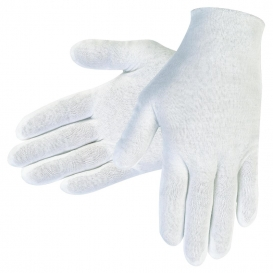 MCR Safety 8610C Ladies Inspector Gloves - Cotton Lisle - White