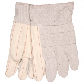 Memphis 9124 Hot Mill Cotton Canvas Gloves - Economy Weight - 2.5\
