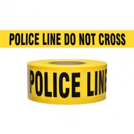 POLICE LINE DO NOT CROSS - Barricade Tape 1000 ft Roll-2.5 Mil
