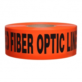 CAUTION BURIED FIBER OPTIC LINE BELOW - Non-Detectable Underground Warning Tape
