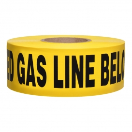 CAUTION BURIED GAS LINE BELOW - Non-Detectable Underground Warning Tape