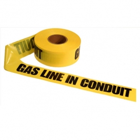 GAS LINE IN CONDUIT Underground Non Detectable Warning Tape