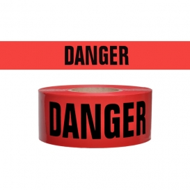 DANGER - Barricade Tape 300 ft Roll 3 Mil