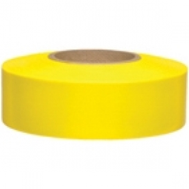 Presco BDY Biodegradable Roll Flagging Tape - Yellow