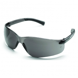 Crews BK112 BearKat Safety Glasses - Gray Temples - Gray Lens