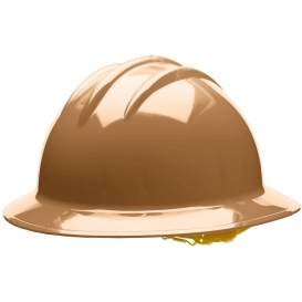 Bullard C34TNP Classic Full Brim Hard Hat - Pinlock Suspension - Tan