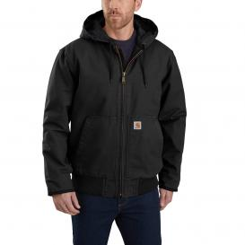 Carhartt 104050 Washed Duck Insulated Active Jacket - Black