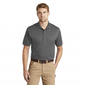 CornerStone CS4020 Industrial Snag-Proof Pique Polo - Charcoal