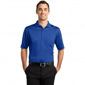 CornerStone CS412P Select Snag-Proof Pocket Polo - Royal