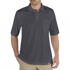 Dickies LS404 Industrial Performance Polo Shirt - Charcoal